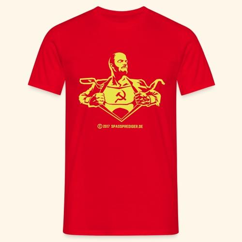 Lenin, Superheld der Arbeit - Männer T-Shirt