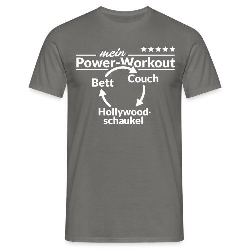 Zirkeltraining - Männer T-Shirt