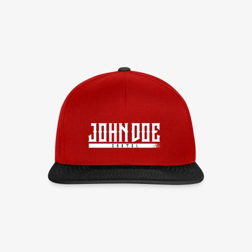Cap John Doe Cartel black / red - Casquette snapback