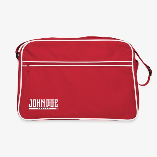 Bag John Doe cartel red - Sac Retro