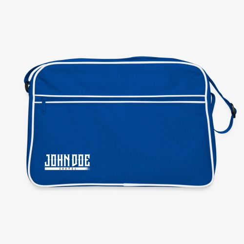 Bag John Doe cartel Blue - Sac Retro