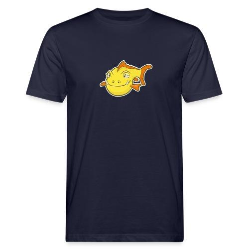 Happy Fish - Mannen Bio-T-shirt