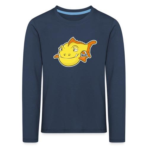 Happy Fish - Kinderen Premium shirt met lange mouwen