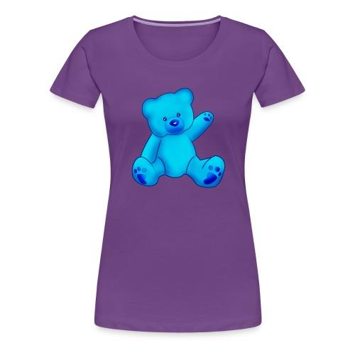 T-shirt Ourson bleu  - T-shirt Premium Femme