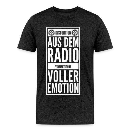 Verzerrte Emotion Shirt - Männer Premium T-Shirt