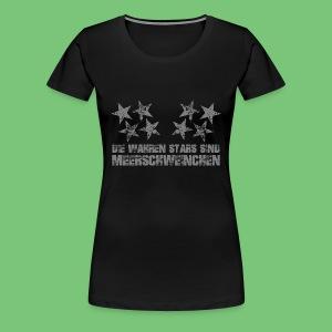 Woman: Wahre Stars - Frauen Premium T-Shirt
