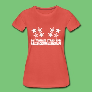 Wahren Stars Woman - Frauen Premium T-Shirt