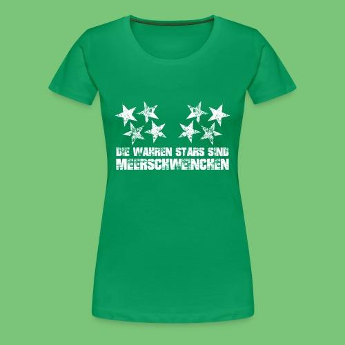 Wahre Stars Woman - Frauen Premium T-Shirt