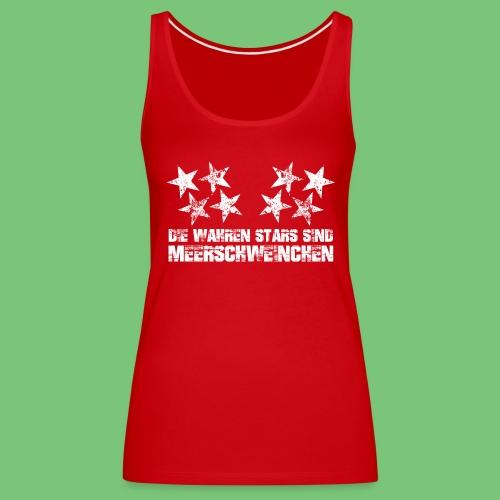 Top Wahre Stars Woman - Frauen Premium Tank Top