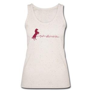 RU Font - Lady Tank Top ( Print: Dark Red) - Frauen Bio Tank Top von Stanley & Stella