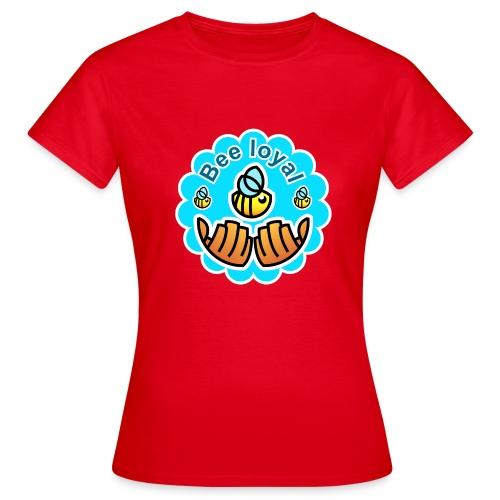 Bienen Logo Save the Bees T-Shirt Statement - Frauen T-Shirt