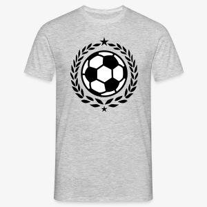 Team Fussball Fußball Fan Lorbeerkranz T-Shirt - Männer T-Shirt