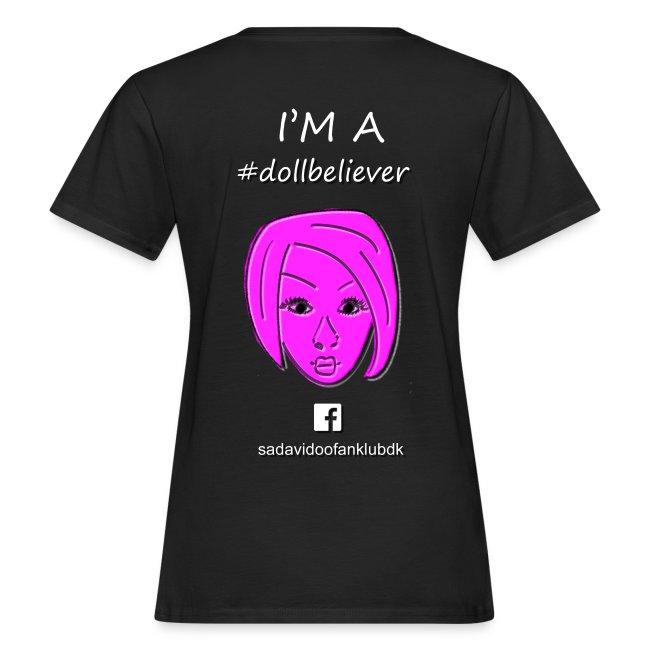 Sada Vidoo Fanklub t-shirt SORT, DAME