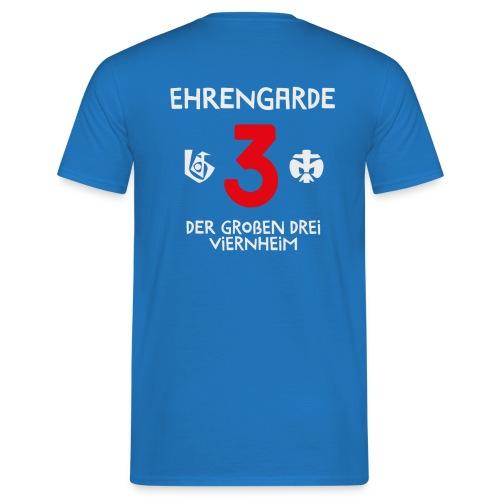 T-Shirt Ehrengarde Logo hinten - Männer T-Shirt