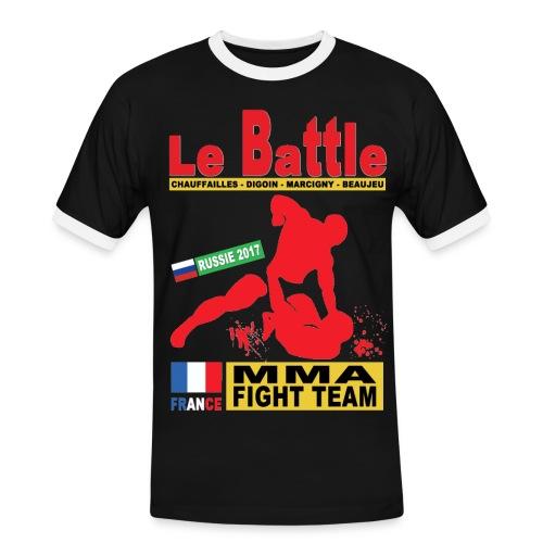 Tee Shirt Officiel Fight Team Russie 2017 - T-shirt contrasté Homme
