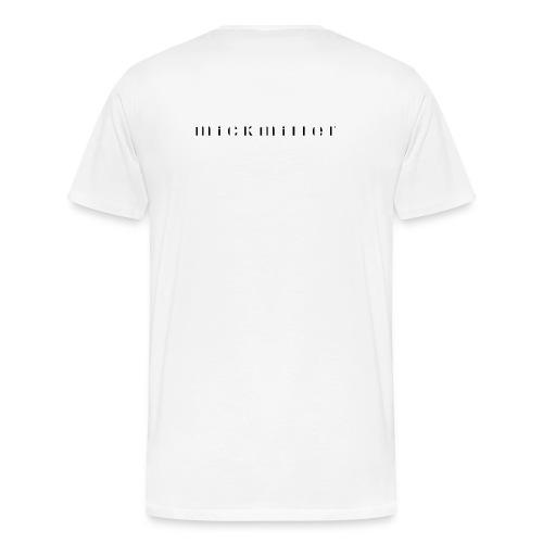 mickmiller - white - Herren Premium Shirt - Männer Premium T-Shirt