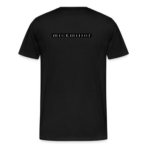 mickmiller - black - Herren Premium Shirt - Männer Premium T-Shirt