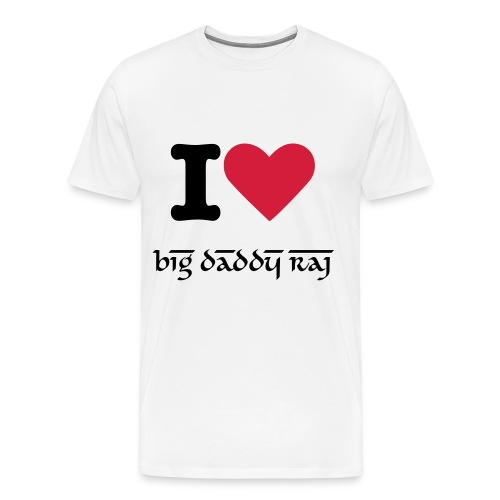 I Heart Raj - Mens - Men's Premium T-Shirt