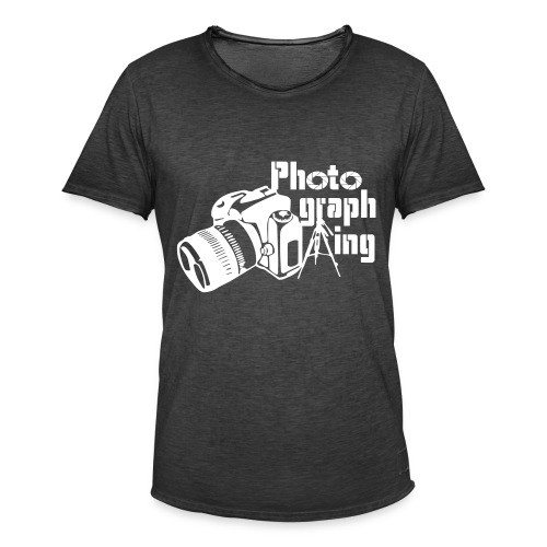 Photographing - Camiseta vintage hombre