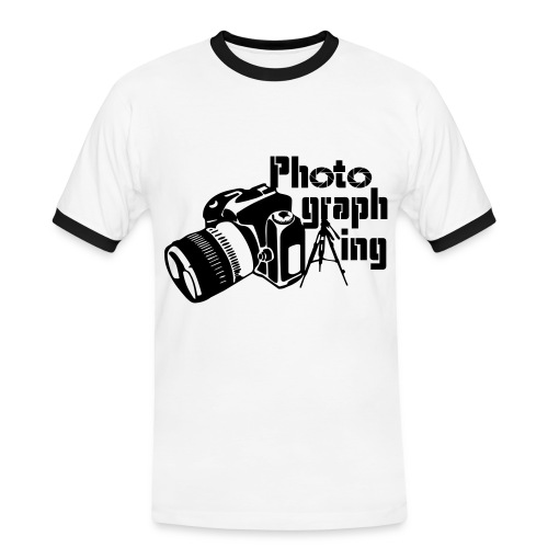 Photographing - Camiseta contraste hombre