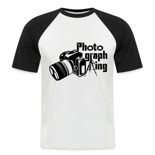 Photographing - Camiseta béisbol manga corta hombre