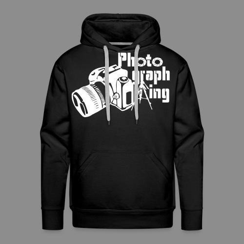 Photographing - Sudadera con capucha premium para hombre