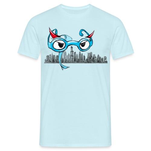 Brillenteufelchen and the City-T-Shirt, verschiedene Farben - Männer T-Shirt