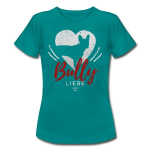 Bully Herz-Silhouette 2 - Frauen T-Shirt