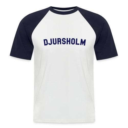 Djursholm Baseball Tee - Kortärmad basebolltröja herr