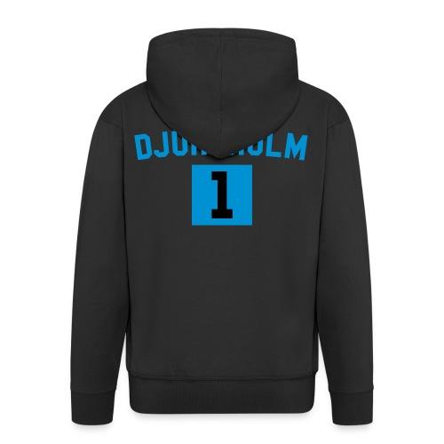 Djursholm Nr One Zip Hood - Premium-Luvjacka herr