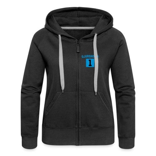 Nr One Zip Hood - Premium luvjacka dam