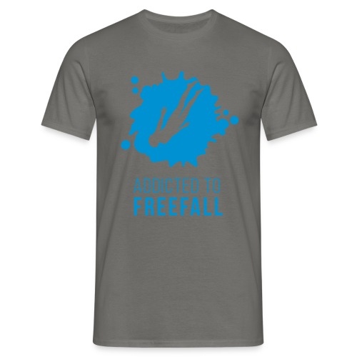 Freediver im Freefall / Freien Fall  - Männer T-Shirt
