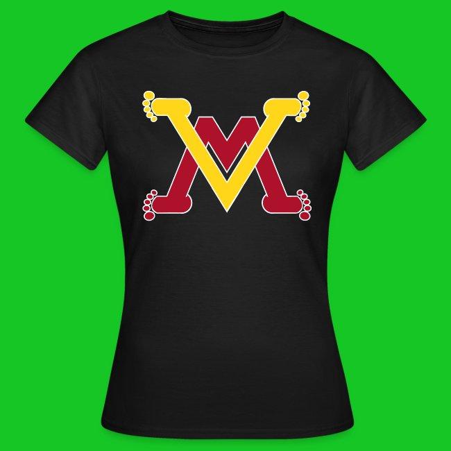 Man en vrouw dames t-shirt
