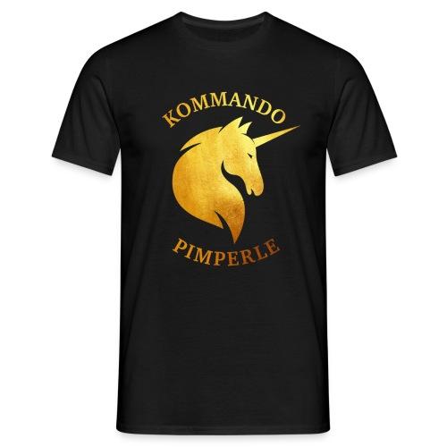 Goldenes Einhorn - Männer - Männer T-Shirt