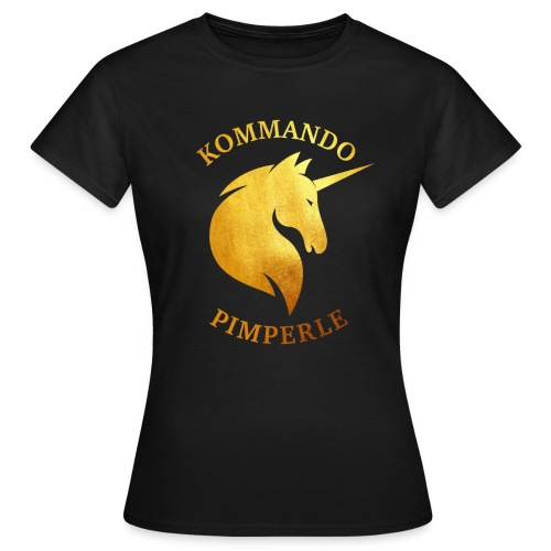 Goldenes Einhorn - Frauen - Frauen T-Shirt
