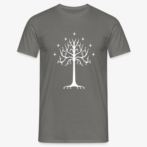 White tree of Gondor t-shirt - Men's T-Shirt