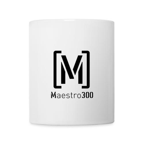 Maestro300 - Logotasse 2.0 Weiß - Tasse