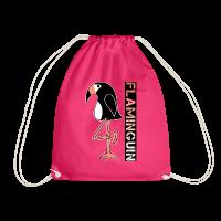 Flamingo + Pinguin = Flaminguin Turnbeutel