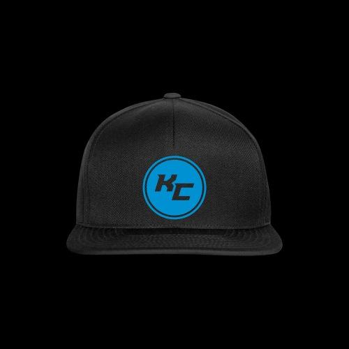 KC tunnus snapback 1 (sileä painatus) - Snapback Cap