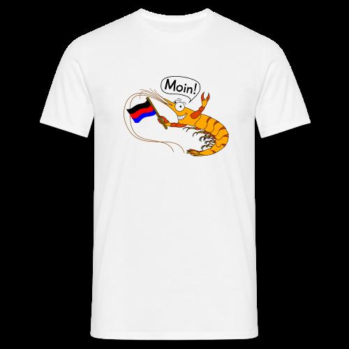 T-Shirt Granat seggt Moin! (verschiedene Farben) - Männer T-Shirt