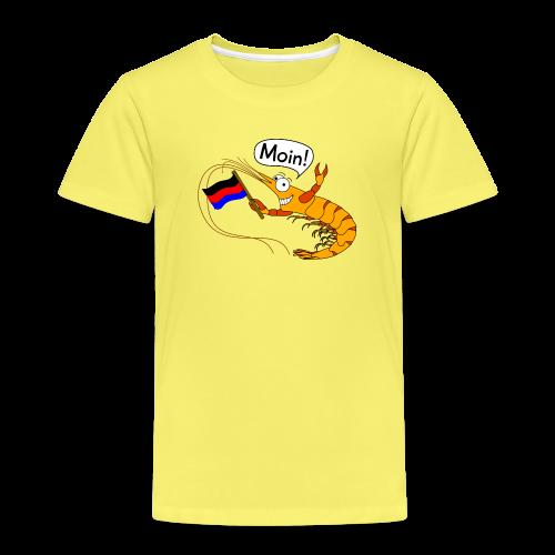 Kinder-T-Shirt Granat seggt Moin! (verschiedene Farben) - Kinder Premium T-Shirt