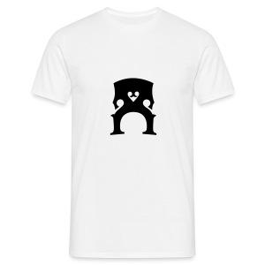 T-Shirt mit Kontrabass-Steg - Männer T-Shirt