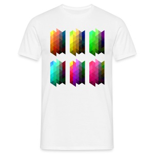 triangles - Men's T-Shirt