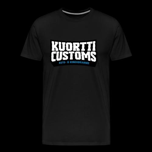KC premium t-paita (sileä painatus) - Miesten premium t-paita