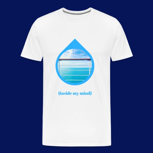 'Sea Mind' Mens T-Shirt - Men's Premium T-Shirt