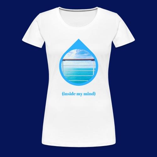 'Sea Mind' Womens T-Shirt - Women's Premium T-Shirt
