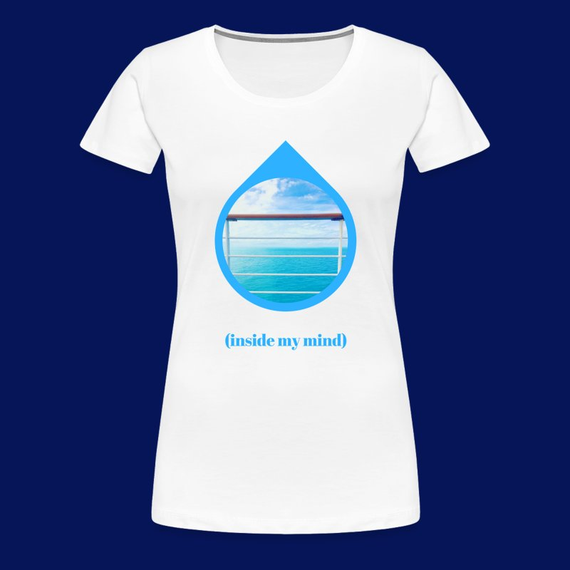 'Sea Mind' Womens T-Shirt - Women's Premium T-Shirt