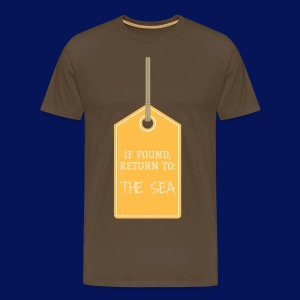 'Sea Tag' Mens T-shirt - Men's Premium T-Shirt