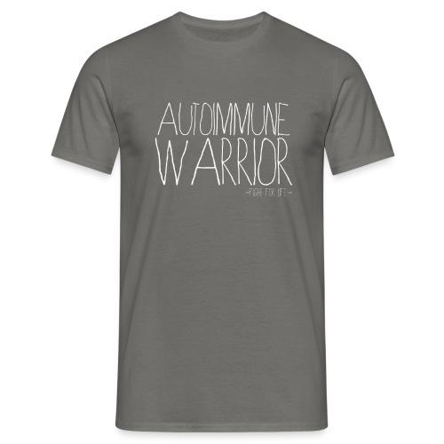T Shirt Homme Autoimmune Warrior - T-shirt Homme