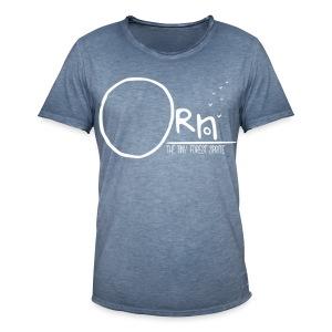 ORN LOGO MENS TEE - Men's Vintage T-Shirt